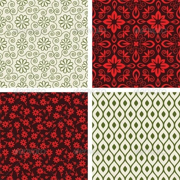 Seamless Set - Patterns Decorative