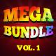 MEGA BUNDLE Vol.1 Corporate & Mobile App Banner Ad - GraphicRiver Item for Sale
