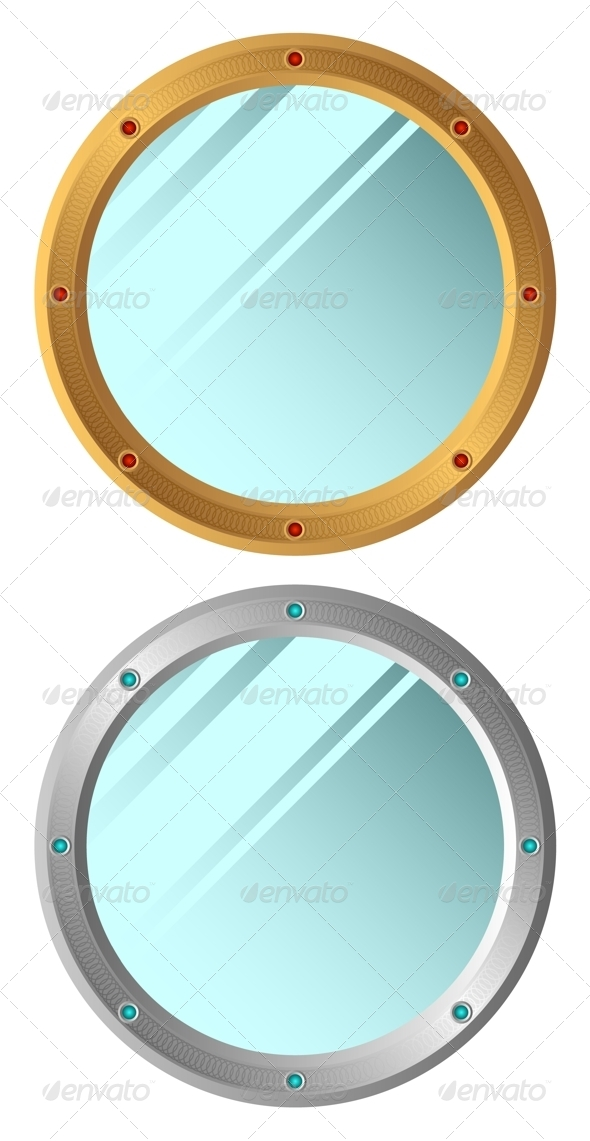 Mirrors. - Objects Vectors