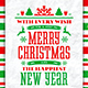 Christmas & New Year poster vol.2 - GraphicRiver Item for Sale