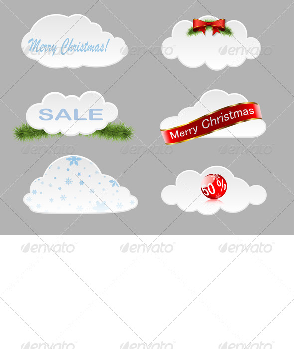 Christmas Clouds - Christmas Seasons/Holidays