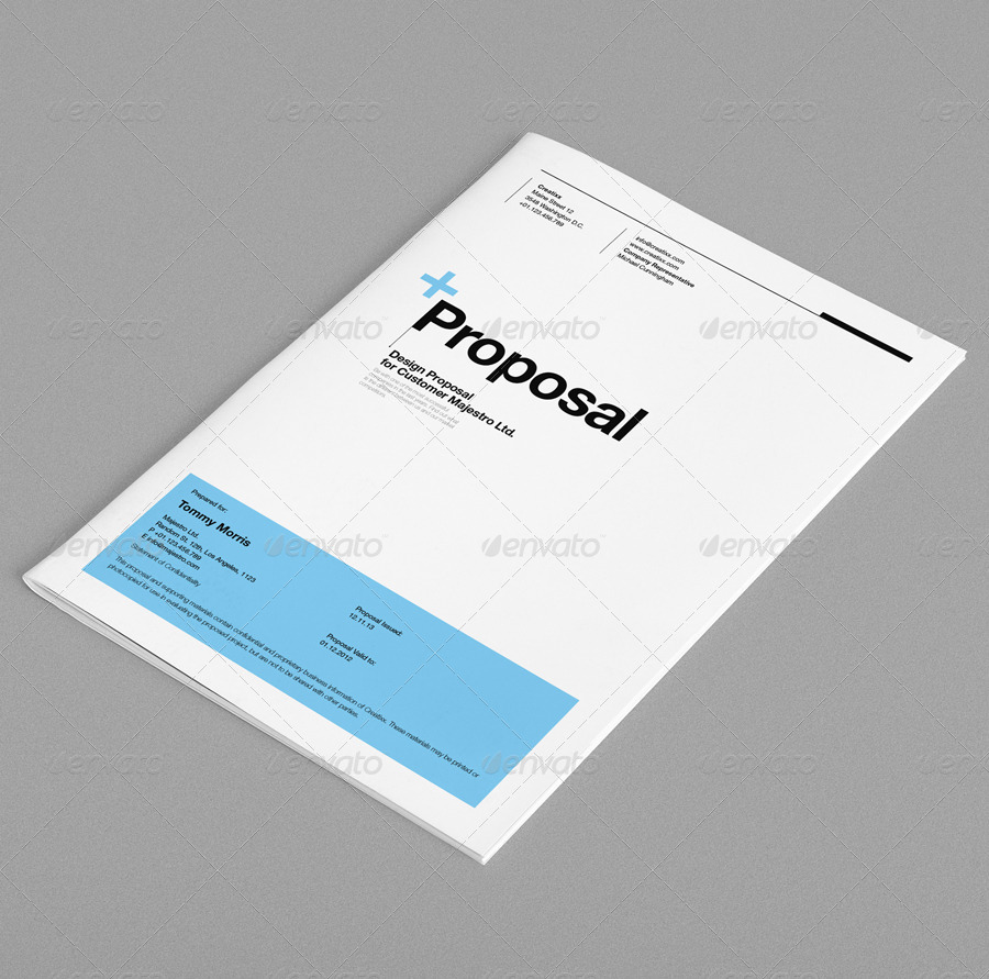 Proposal by egotype | GraphicRiver