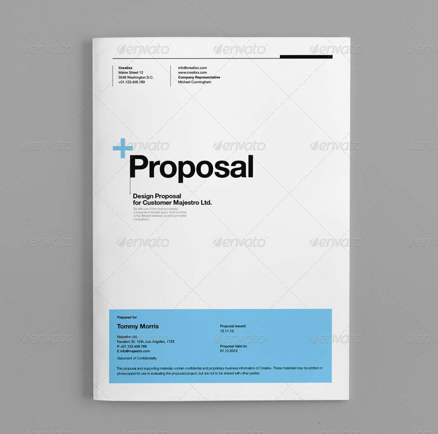 proposal by egotype graphicriver