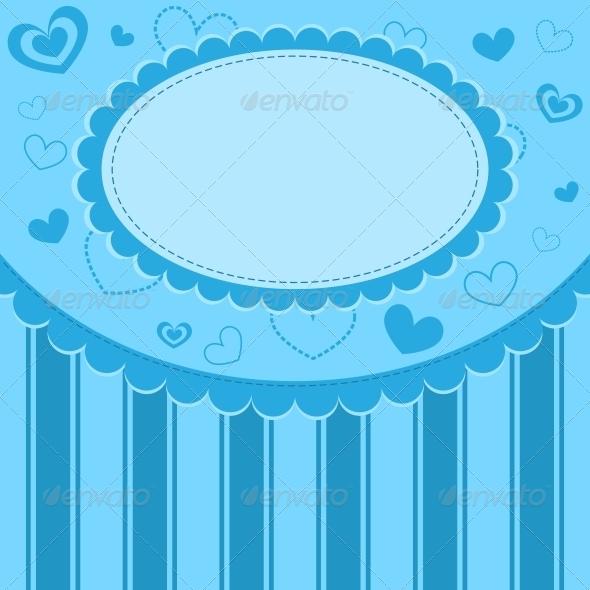 Blue Kid Background - Backgrounds Decorative