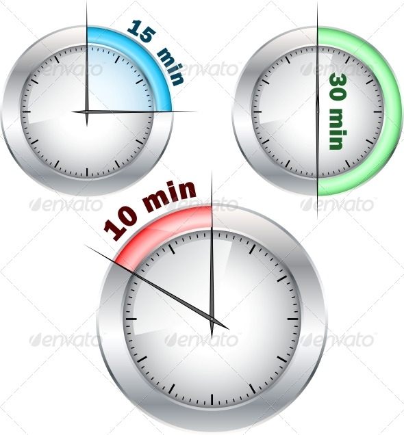 Office Clocks - Backgrounds Decorative