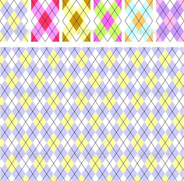 New Scottish Pattern - Backgrounds Decorative