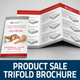 Product Sale/ Promotion Trifold Brochure v2 - GraphicRiver Item for Sale