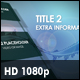 Title Scene with Audio Reaction - VideoHive Item for Sale