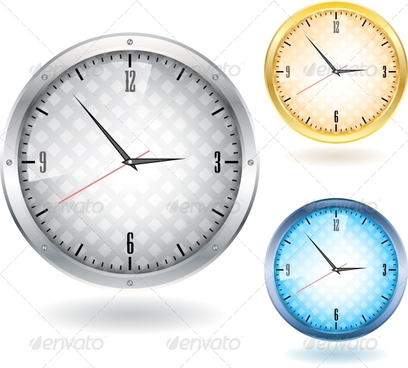 Nice Clocks - Backgrounds Decorative