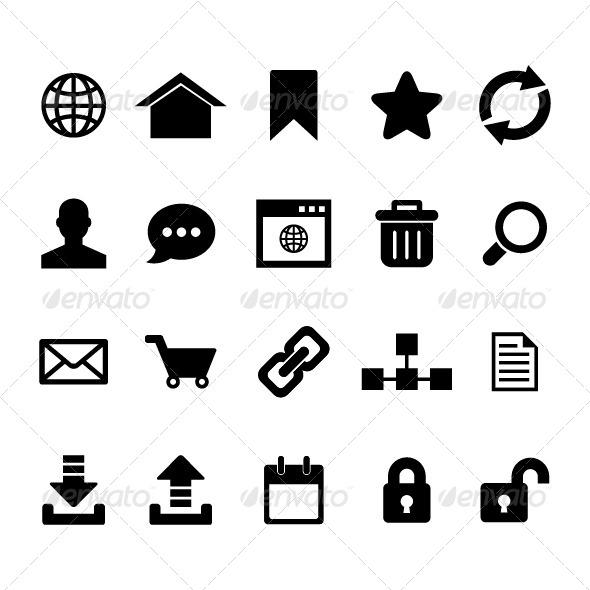 Internet Icon Set - Web Icons