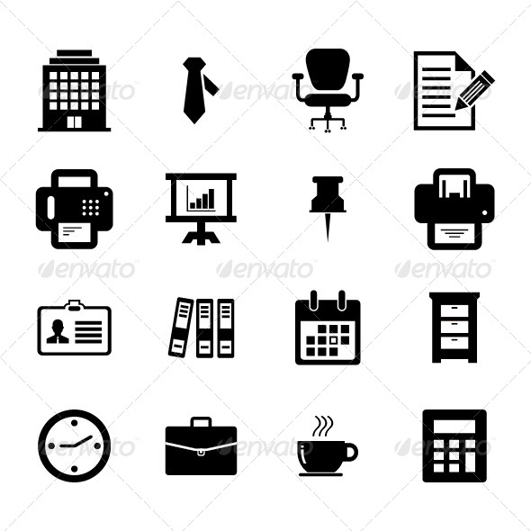 Office Icon Set - Business Icons