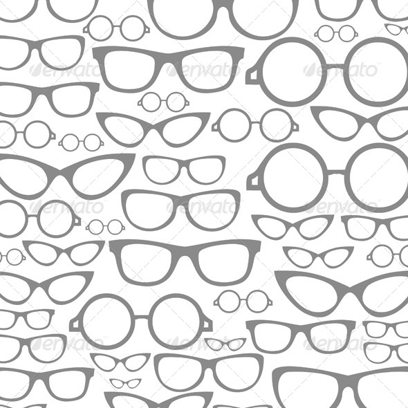 Glasses a Background - Miscellaneous Vectors