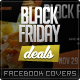 Black Friday / Promotional Facebook Covers - GraphicRiver Item for Sale