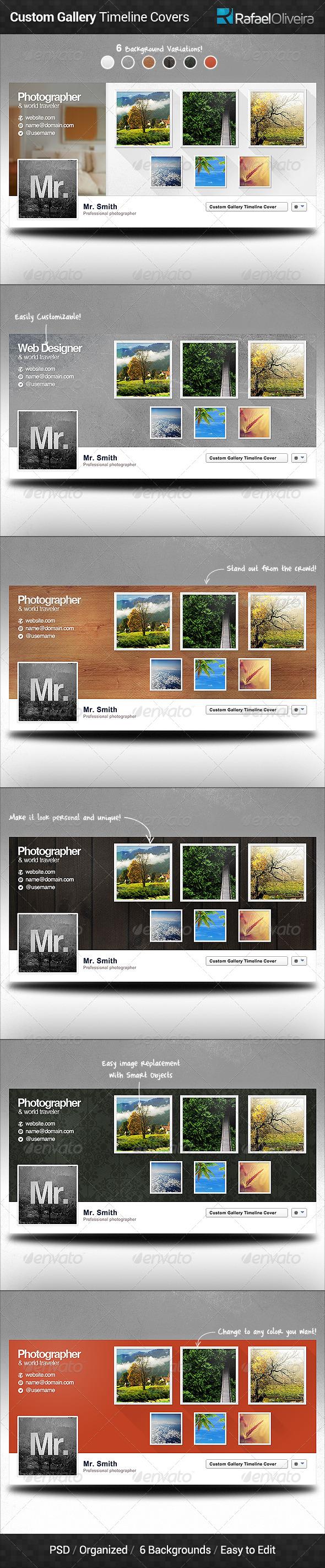 Custom Gallery Facebook Timeline Covers - Facebook Timeline Covers Social Media