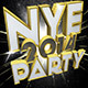 3D NYE Party 2014 Pack Texts - GraphicRiver Item for Sale