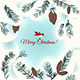 Christmas Card with Bird - GraphicRiver Item for Sale