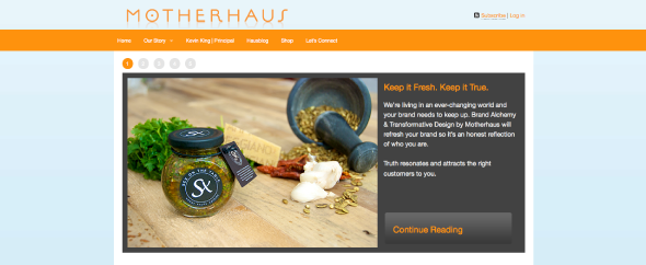 Motherhaus homepage