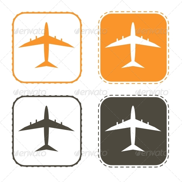Free Shipping, Delivery Icon Set.  - Decorative Symbols Decorative