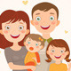 Family with Daughters - GraphicRiver Item for Sale