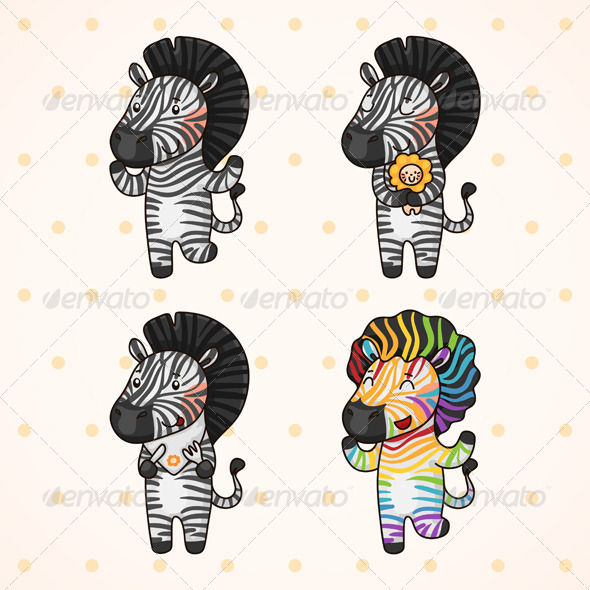 Zebra - Animals Characters