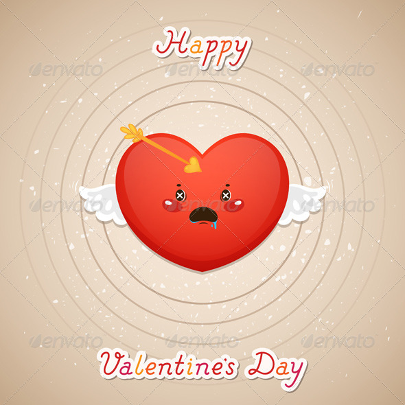 Valentines Day, Heart and Target - Valentines Seasons/Holidays