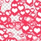 Flying Hearts Background - VideoHive Item for Sale