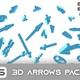 46 3D Arrows Footage Pack - VideoHive Item for Sale