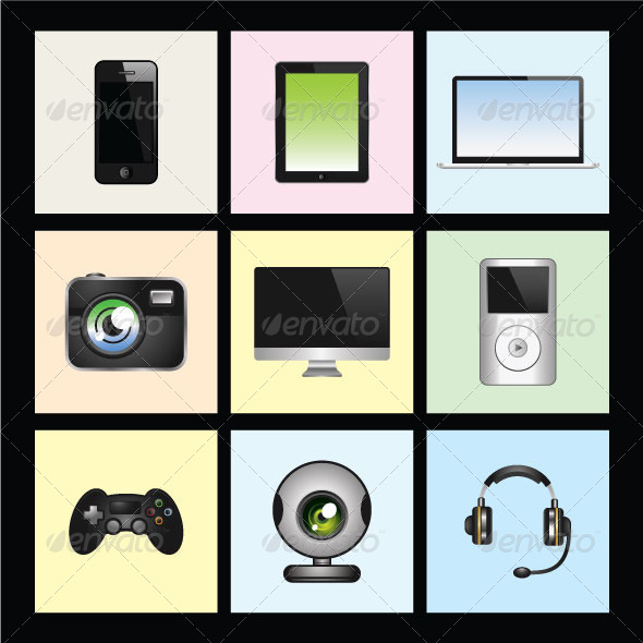 Modern Gadgets and Mobile Technologies - Technology Conceptual