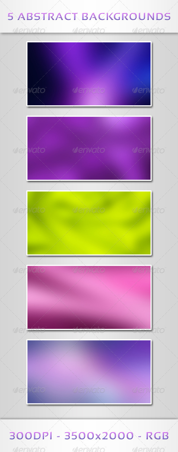 5 Abstract Backgrounds - Abstract Backgrounds