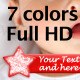 Star Lower Third - 7 colors - VideoHive Item for Sale