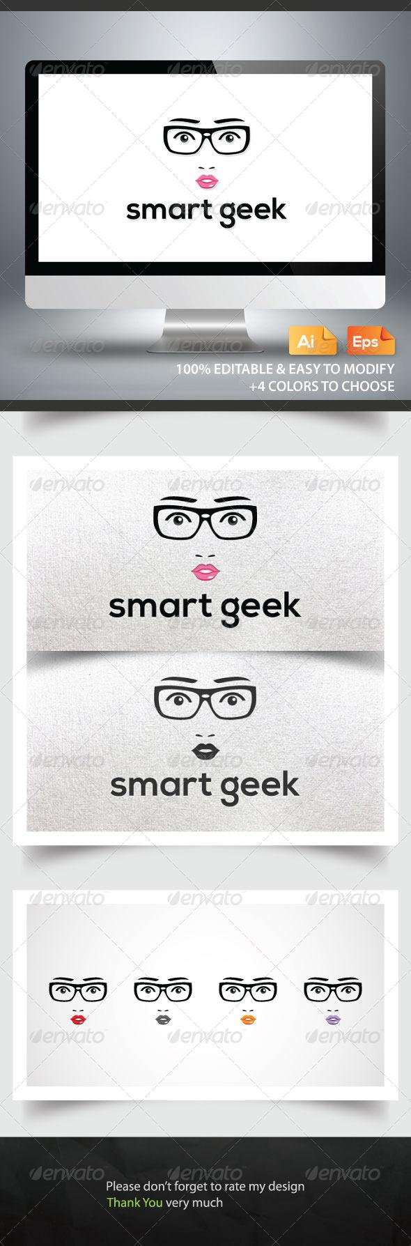 Smart Geek - Humans Logo Templates