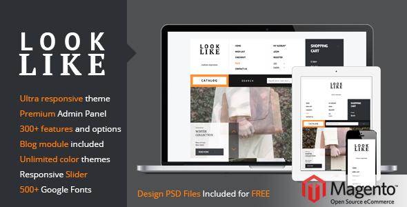 LookLike – Flat Premium Responsive Magento theme - Shopping Magento