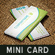 Garden Swimming Pool Mini Business Card 03 - GraphicRiver Item for Sale