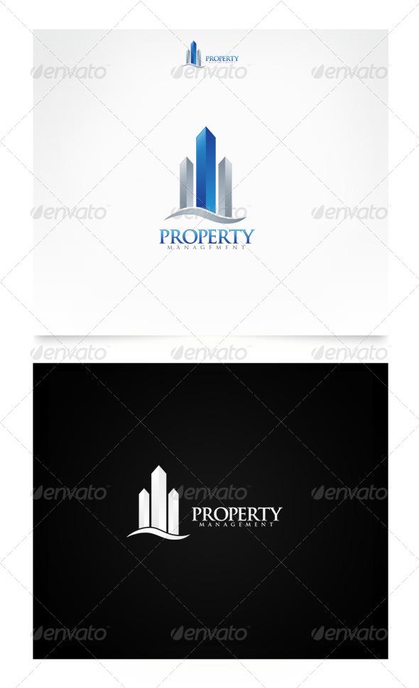 Property Management - Buildings Logo Templates