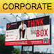 Corporate Business Billboard Signage - GraphicRiver Item for Sale