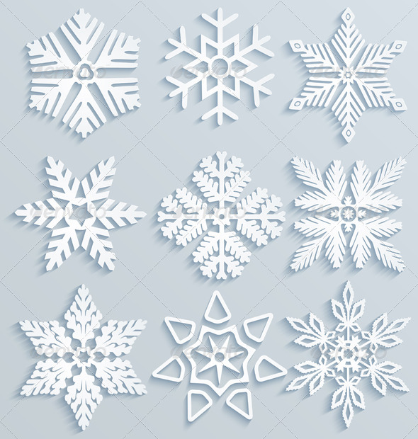 Snow Decorations  - Seasons/Holidays Conceptual