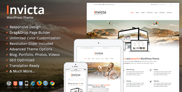 Invicta WordPress Theme