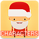 Christmas Characters Vector Pack - GraphicRiver Item for Sale