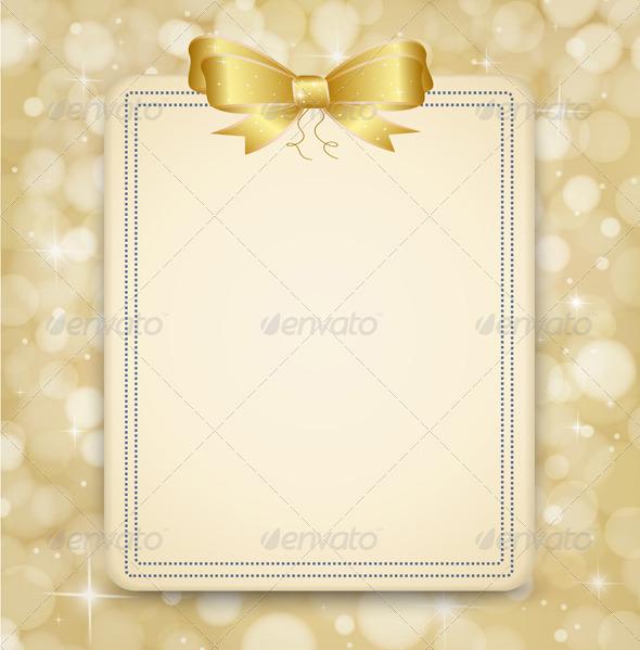 Festive Golden Background.  - Seasons/Holidays Conceptual