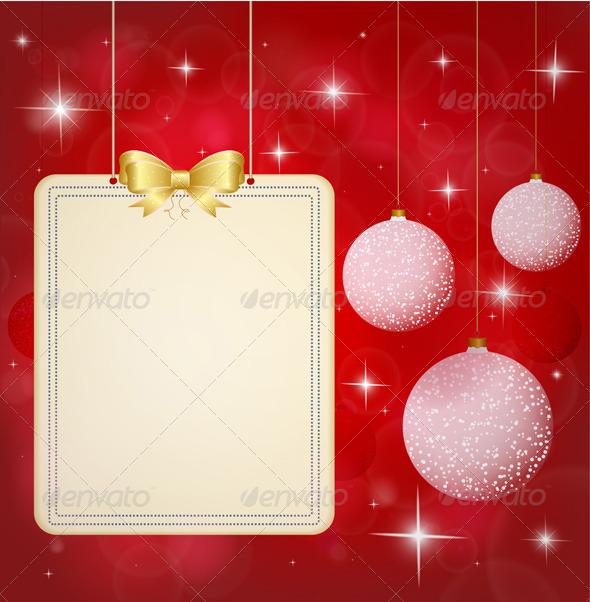 Christmas Background.  - Seasons/Holidays Conceptual