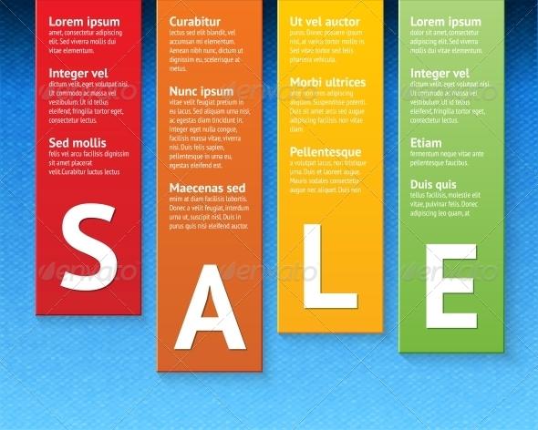 Sale Paper Cut Template - Web Technology
