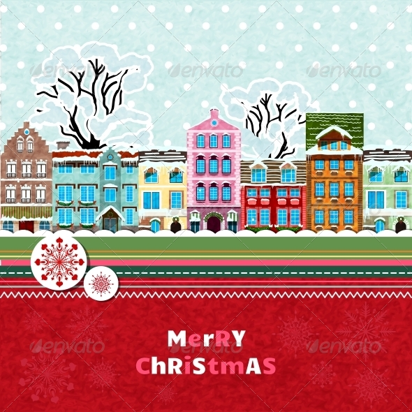 Merry Christmas Invitation Card - Christmas Seasons/Holidays