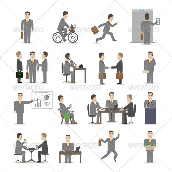 Office People Set - Concepts Business