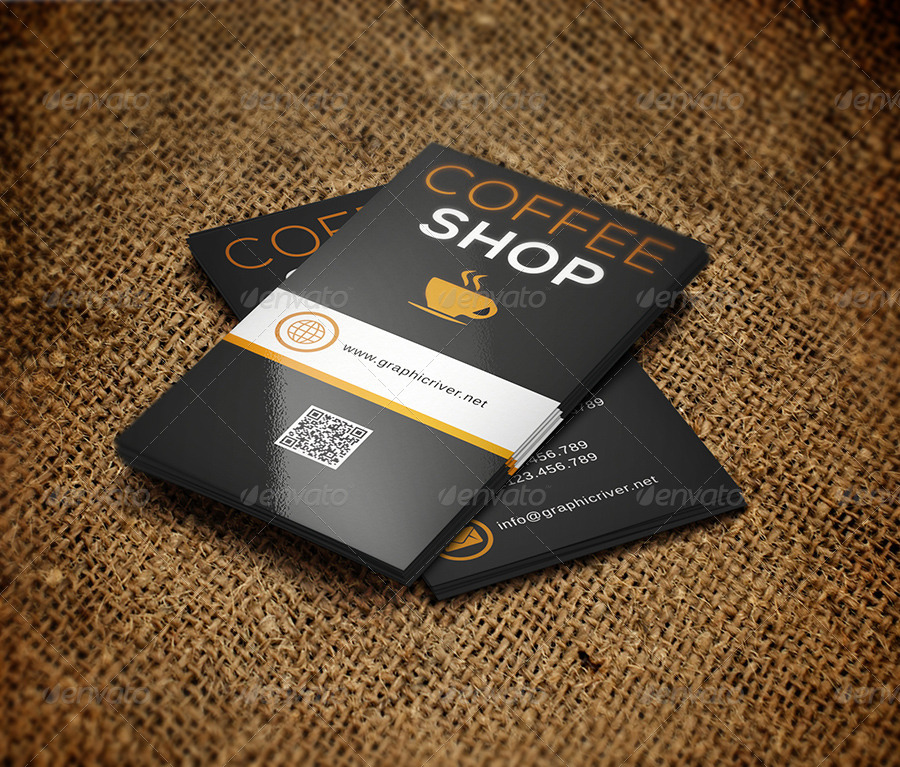 Coffee business card 137 by reddes graphicriver coffee business card 137 colourmoves