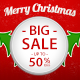 Christmas Big Sale Ad Banners - GraphicRiver Item for Sale