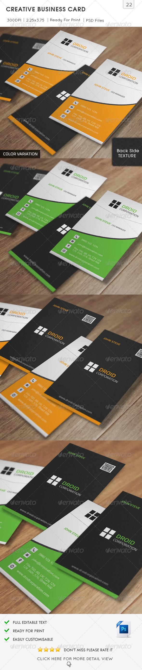 Creative Business Card v22 - Creative Business Cards
