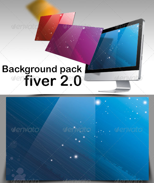 Background Pack Fiver 2.0 - Abstract Backgrounds
