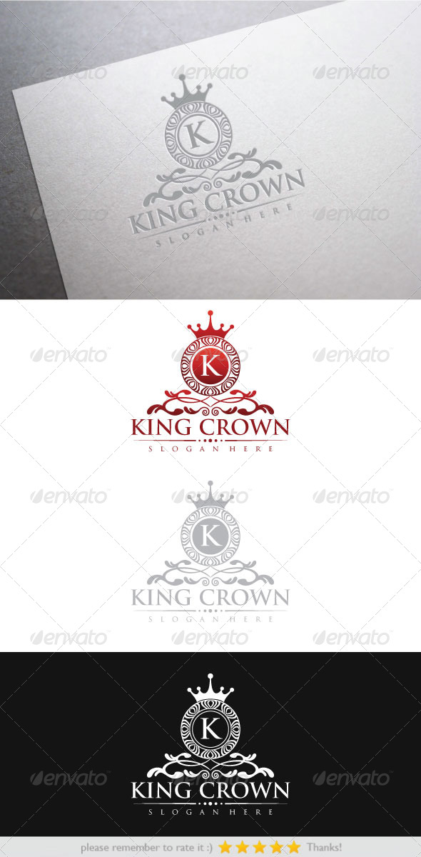 King Crown - Vector Abstract