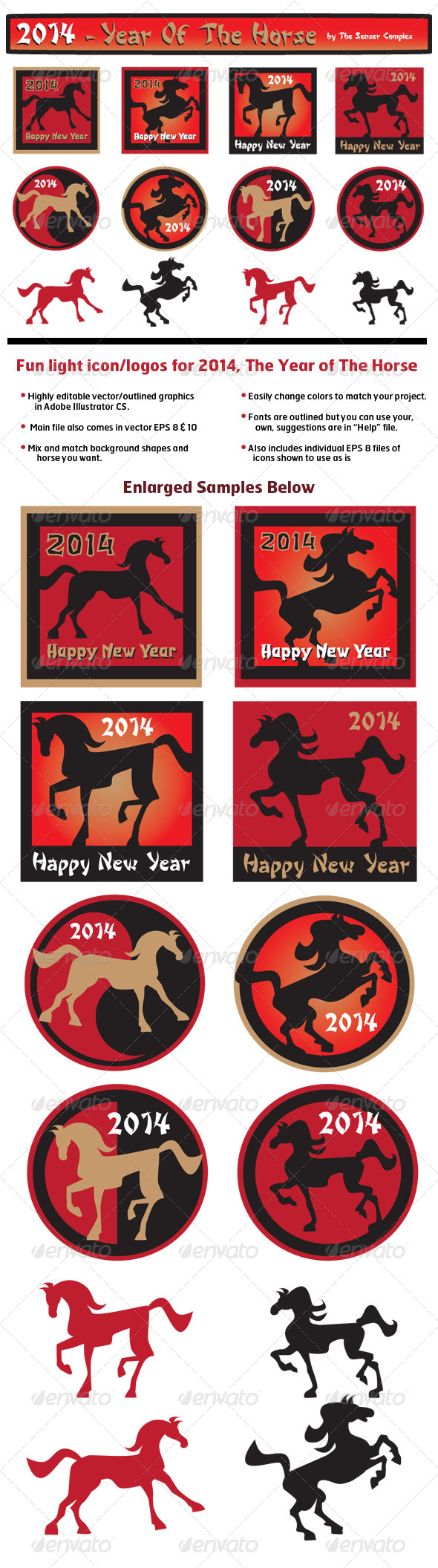 Year of The Horse - New Year Seasons/Holidays