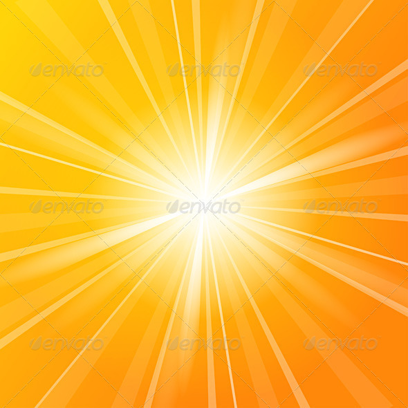 Sunshine vector background - Backgrounds Business